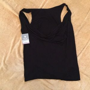 Nux Black Muscle Tee Size Large